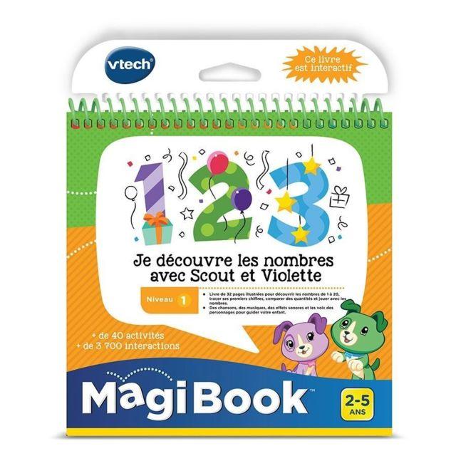 VTECH MagiBook - Je découvre les nombres avec Scout et Violette - 480705