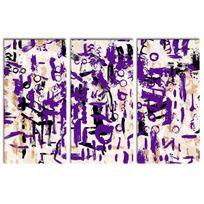 Declina - Vente cadre triptyque art moderne sur toile imprimée