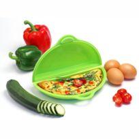 YOKO DESIGN - Cuit omelette en silicone pour four micro-ondes - Vert