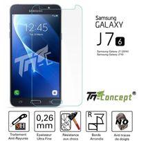 Autre - Samsung Galaxy J7 2016 Vitre de Protection Crystal - Tm Concept