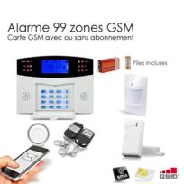 SecuriteGOODdeal - Alarme Gsm sans fil de 99 zones, Easy Box
