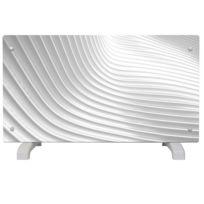 Efydis - Radiateur électrique décoratif design Wave 2000W 115