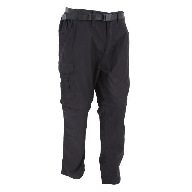 GENERIC Craghoppers Kiwi - Pantalon transformable résistant à l'eau - Homme Tour de taille 97cm x régulier, Noir Utrw334
