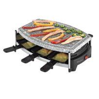 DOMOCLIP - Set à raclette/pierre à gril 6 pers DOM223