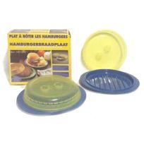 Plasticos De Galicia - Plats x2 à Rôtir les steacks hachés Micro-Ondes