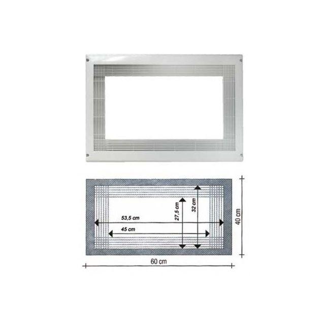 lg encadrement micro ondes blanc pour micro onde. Black Bedroom Furniture Sets. Home Design Ideas