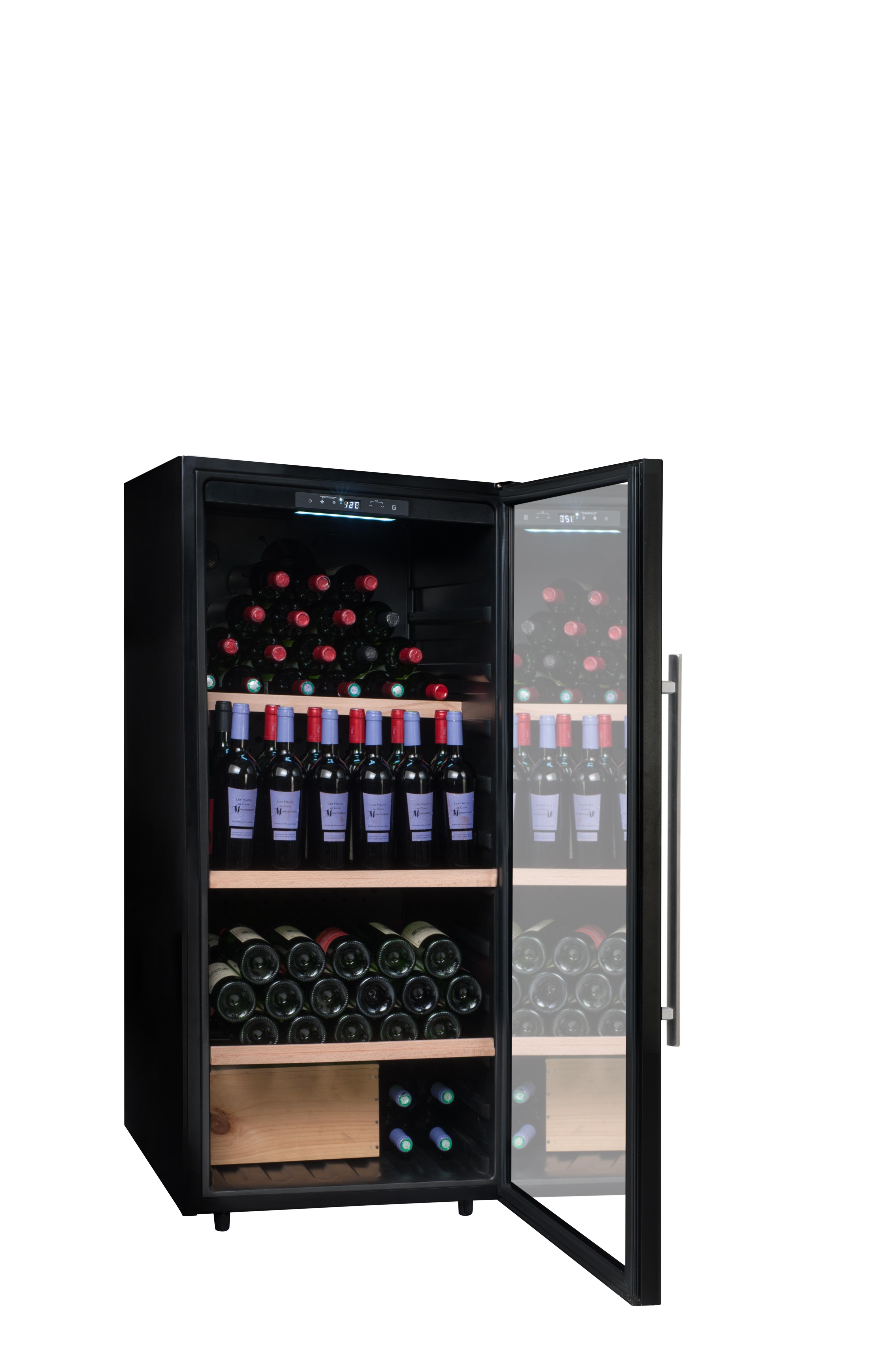 climadiff cave vin de conservation pclv160 pas. Black Bedroom Furniture Sets. Home Design Ideas