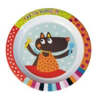 Ebulobo - Assiette plate Louloup - T'es fou louloup