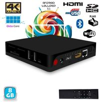 Yonis - Android Tv Box 4K Mini Pc Octa Core 64 bits Bluetooth Wifi 8Go