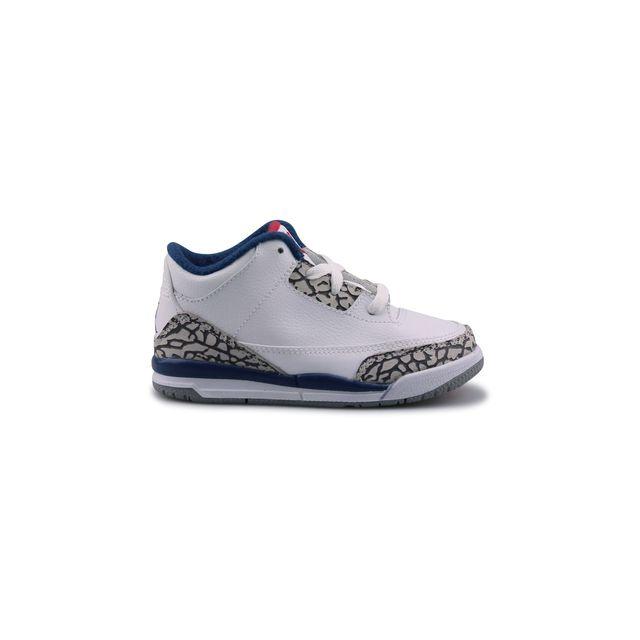 Nike Air Jordan 3 Retro cher Bebe Blanc 832033 106 pas cher Retro Achat bbf4d5