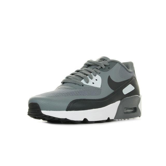 Nike Air max 90 Ultra 2.0 Bg Gris, Blanc pas cher Achat