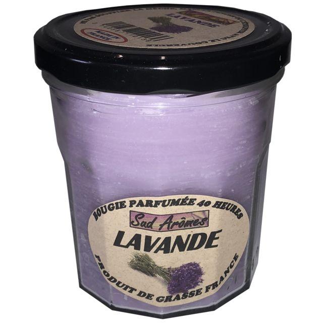 Sud-ouest Bougie Fabriquée en France - 40 heures - Lavande