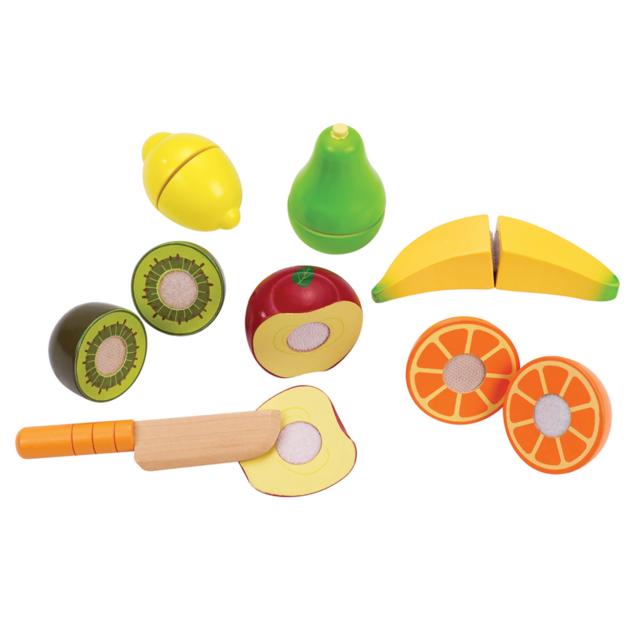 Rocambolesk Superbe Set de jouets fruits frais Hape E3117 neuf