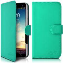 Karylax - Housse Etui Portefeuille Universel M Couleur Turquoise pour Samsung Galaxy Note 3 Lite