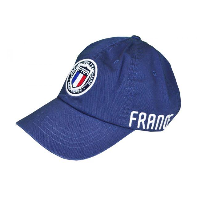 18c730a94ae Ralph Lauren - Casquette France bleu marine pour homme - pas cher Achat    Vente Casquettes