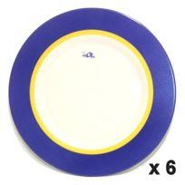 Arc - Assiettes de Présentation X6 Zest 31 cm Lumin