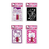 Hello Kitty - lot 4 minis coloriages