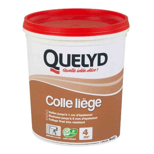 Quelyd Colle Liege 1kg Pas Cher Achat Vente Mastic Silicone