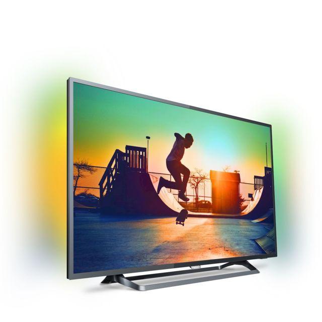 """PHILIPS - TV LED 50"""" 127 cm 50PUS6262 - Noir"""