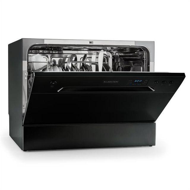 KLARSTEIN - Amazonia 6 lave-vaisselle de table A+ 1380W 6 couverts 49 dB noir