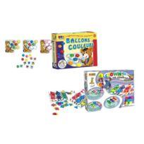 Créative Toys - CrÉATIVE Toys - Bar 0002/CT2067 - Jeu ÉDUCATIF Et Scientifique - Ballons Et Couleurs + Les Clowns En Couleur