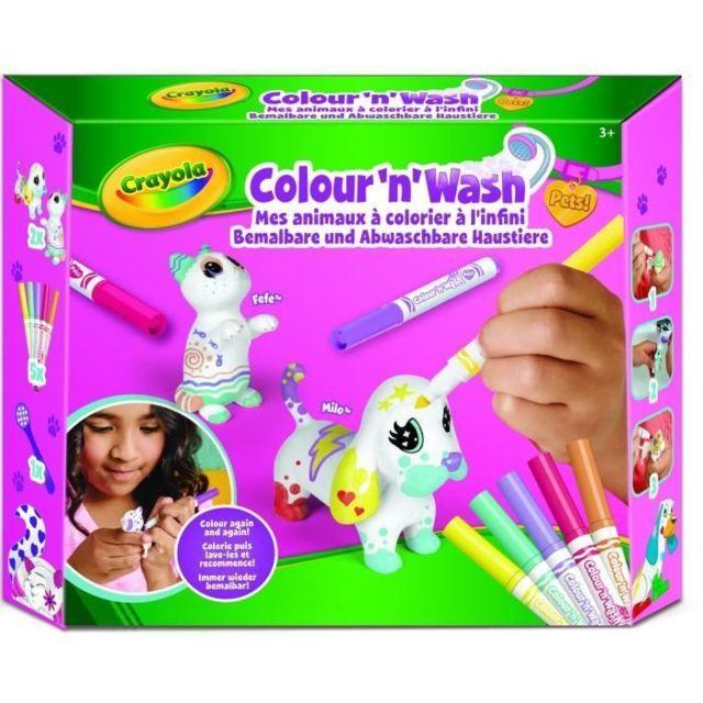 Jeu De Coloriage Dessin Pochoir Color N Wash Pets Mes Animaux A Colorier Kit 2 Pas Cher Achat Vente Dessin Et Peinture Rueducommerce