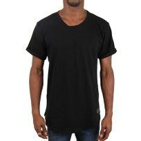 Fake - Paris - T-shirt Long Oversize avec Zip