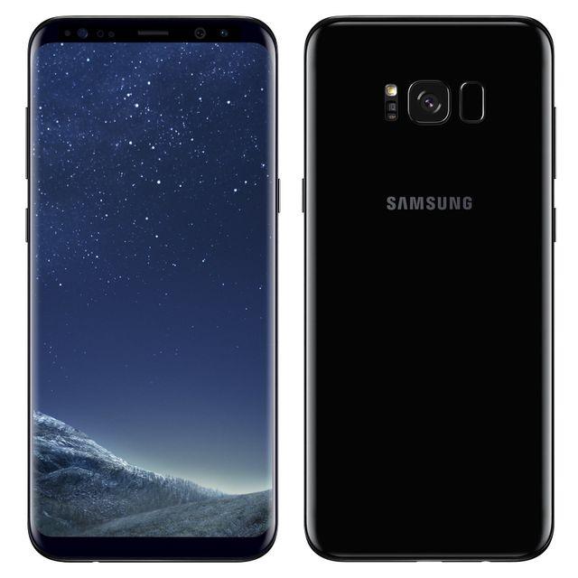 Samsung - Galaxy S8 Plus - 64 Go - Noir Carbone - Reconditionné