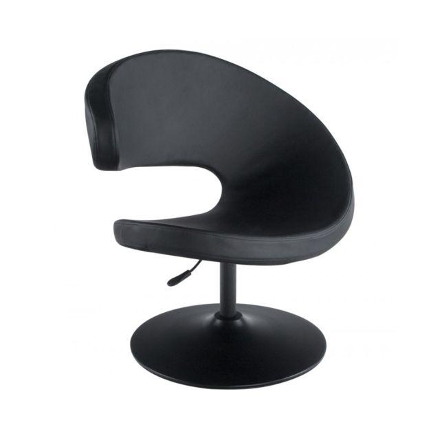 Kokoon Design Fauteuil design Marrazo Black 68x82x102 cm