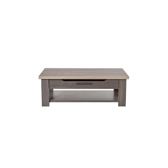 Table basse 116x40x70cm naturel - Cassandre