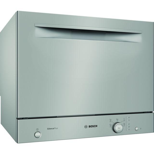 Bosch lave-vaisselle compact 6 couverts a+ pose-libre inox - sks51e38eu