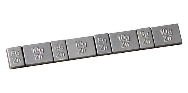 ks tools masse d quilibrage jante alu en zinc barette 4x5g et 4x10g boite de 50 pi ces. Black Bedroom Furniture Sets. Home Design Ideas