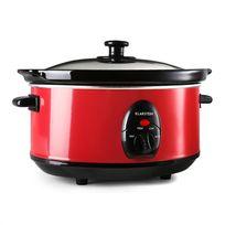 KLARSTEIN - Bristol 35 Slow Cooker Mijoteuse 3,5 litres 200W - rouge