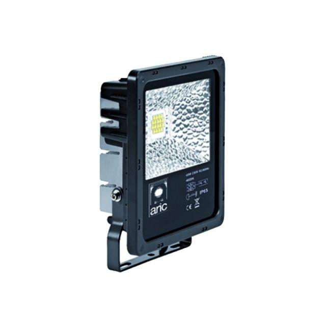 aric projecteur ext rieur led 25 watts 4000k twister noir pas cher achat vente. Black Bedroom Furniture Sets. Home Design Ideas