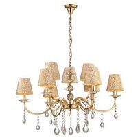 Boutica-design - Lustre Pantheon Or 9x40W - Ideal Lux - 088105