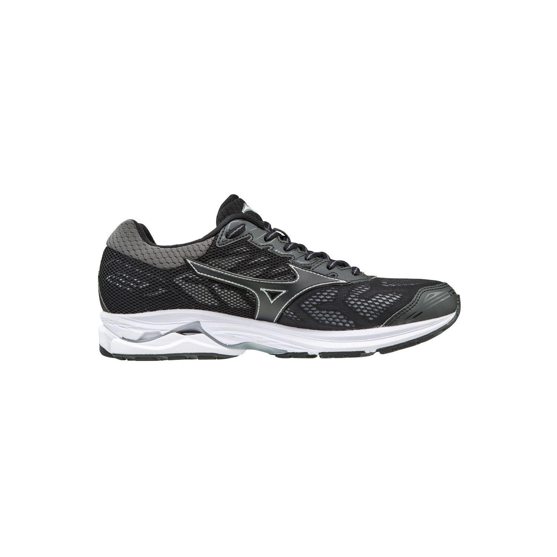 Mizuno - Chaussures femme Wave Rider 21 noir/argent - pas cher Achat / Vente Chaussures running