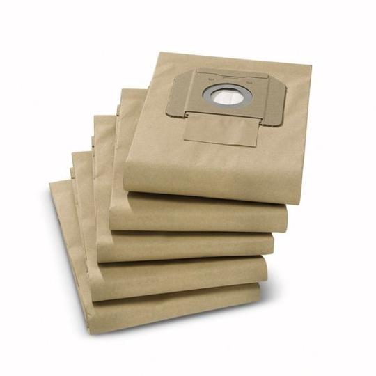 KARCHER SA - Kit filtre de toison KARCHER 25L pour aspirateur NT25/1 paquet de 5 6.907-478.0