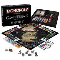 MONOPOLY - Le Trône de fer jeu de plateau FRANCAIS