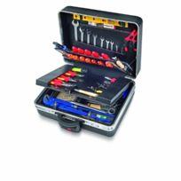 Parat - Classic - 489.610-171 - Boite À Outils King-size-plus - Roulettes - Supports À Outils - Noir