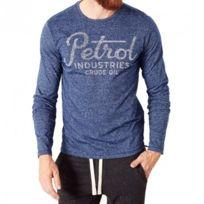 Petrol Industries - Tee-Shirt Bleu Homme Pétrol Industries
