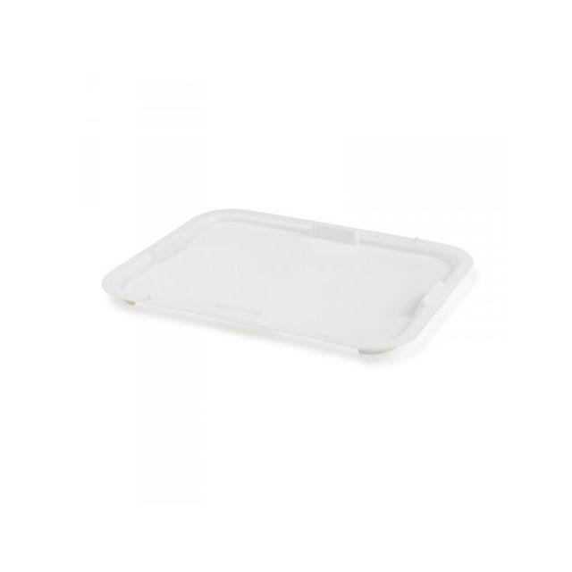 Gilac Couvercle pour Cuvette Rectangulaire 10L/20Litres Blanc