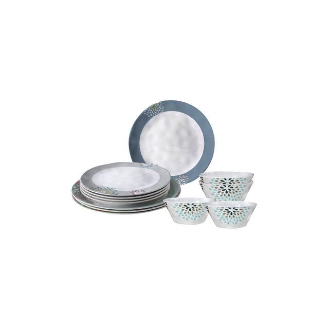 Autre Pack vaisselle mélamine Belfiore 12 pièces
