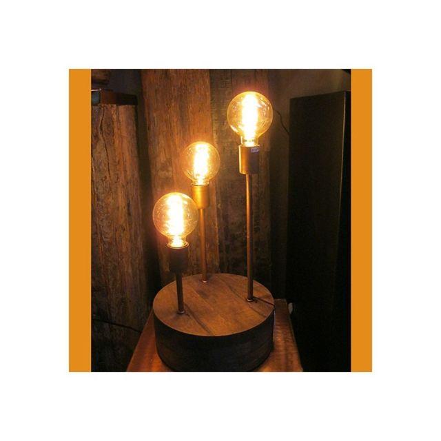 lampe poser en cuivre. Black Bedroom Furniture Sets. Home Design Ideas
