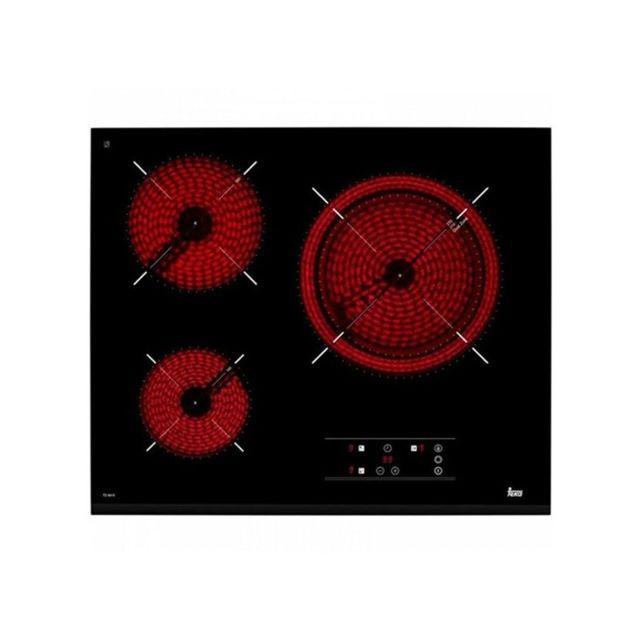 Teka Plaques vitro-céramiques 219213 5400W 60 cm Noir