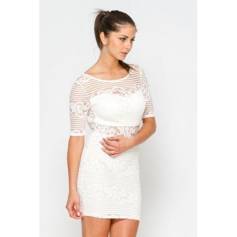 2204b082f1d8a Princesse Boutique - Robe dos nu blanche - pas cher Achat   Vente ...