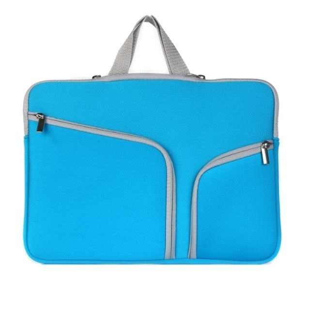 96d125429e Wewoo - Sacoche pour ordinateur portable bleu foncé Macbook Air 11,6 pouces  Double poche