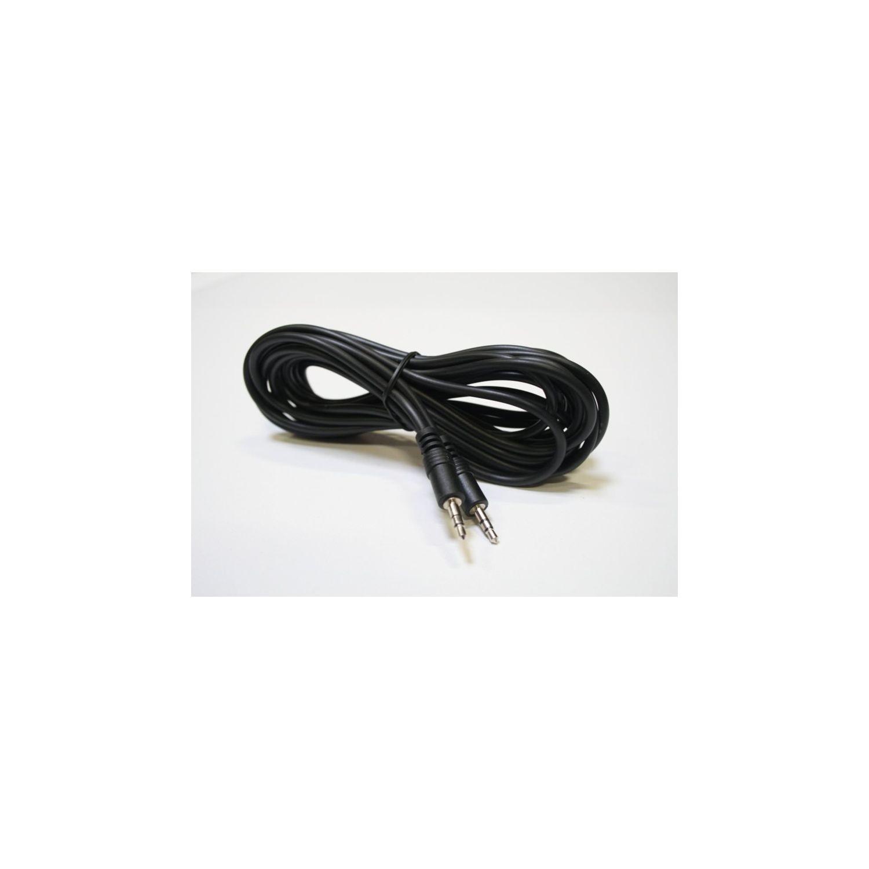 cable cordon audio jack 3 5 stereo m m 2m blind pas cher achat vente rueducommerce. Black Bedroom Furniture Sets. Home Design Ideas
