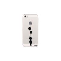 PEACH - Coque Transparente Boy pour iPhone 5/5S/SE