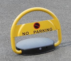 barri re de parking automatique mottez jaune vendu par. Black Bedroom Furniture Sets. Home Design Ideas