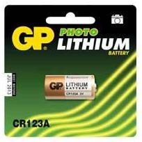 Gp Batteries - Pile Lithium Cr123A - 3 Volts
